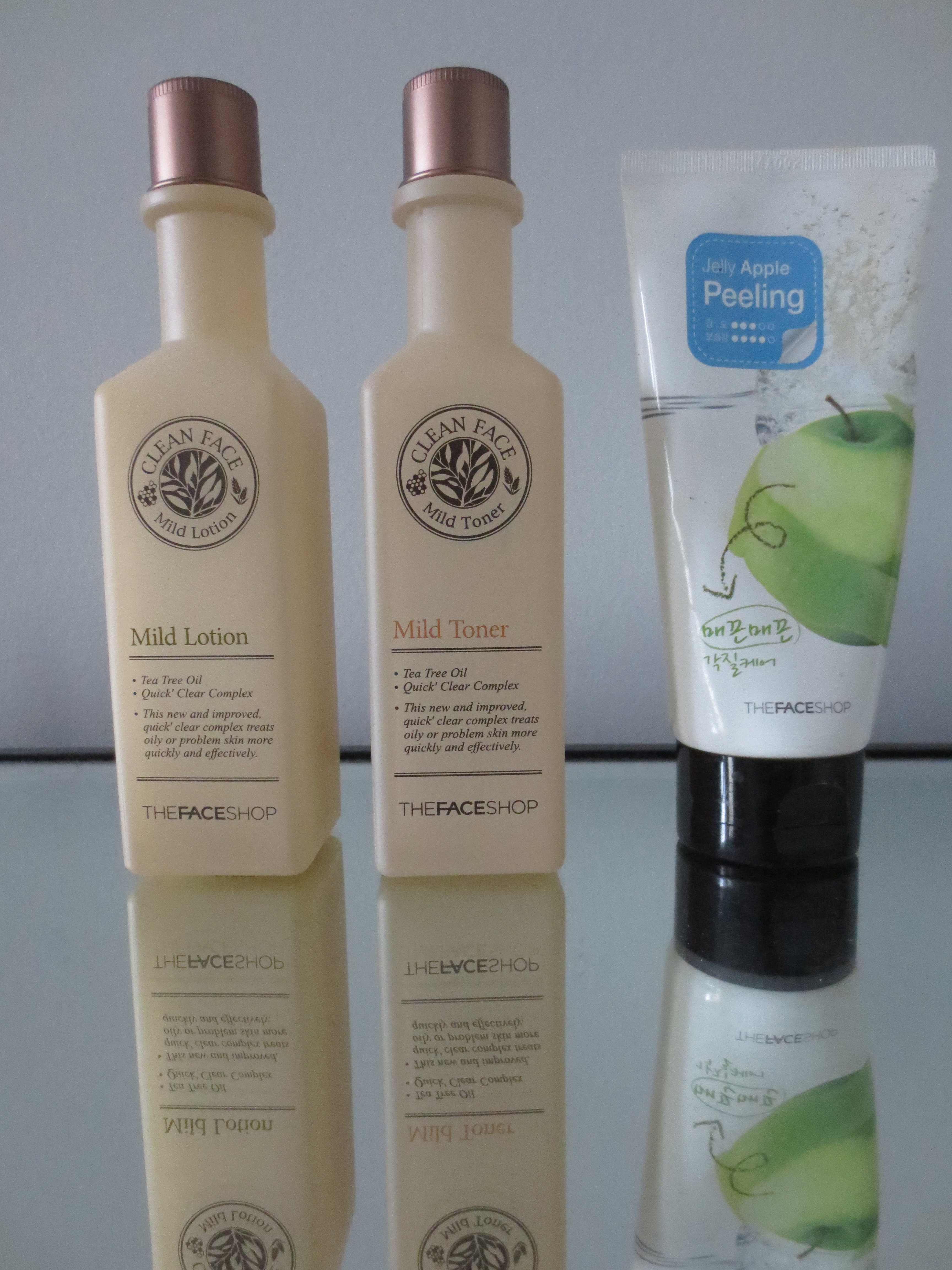 Review The Face Shop Products For Sensitive Skin   Aiishwarya
