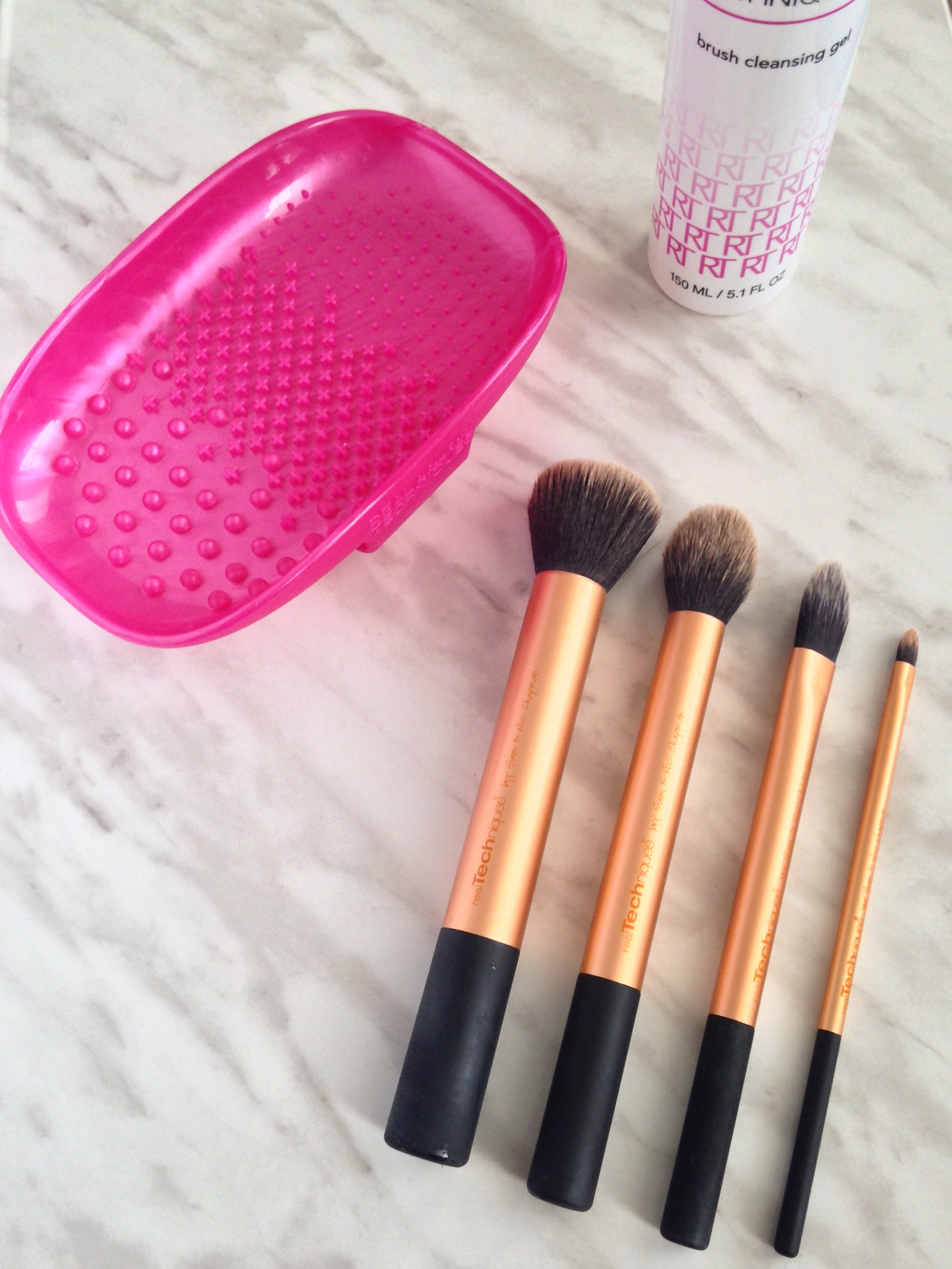 ... to clean my brushes more often. image image