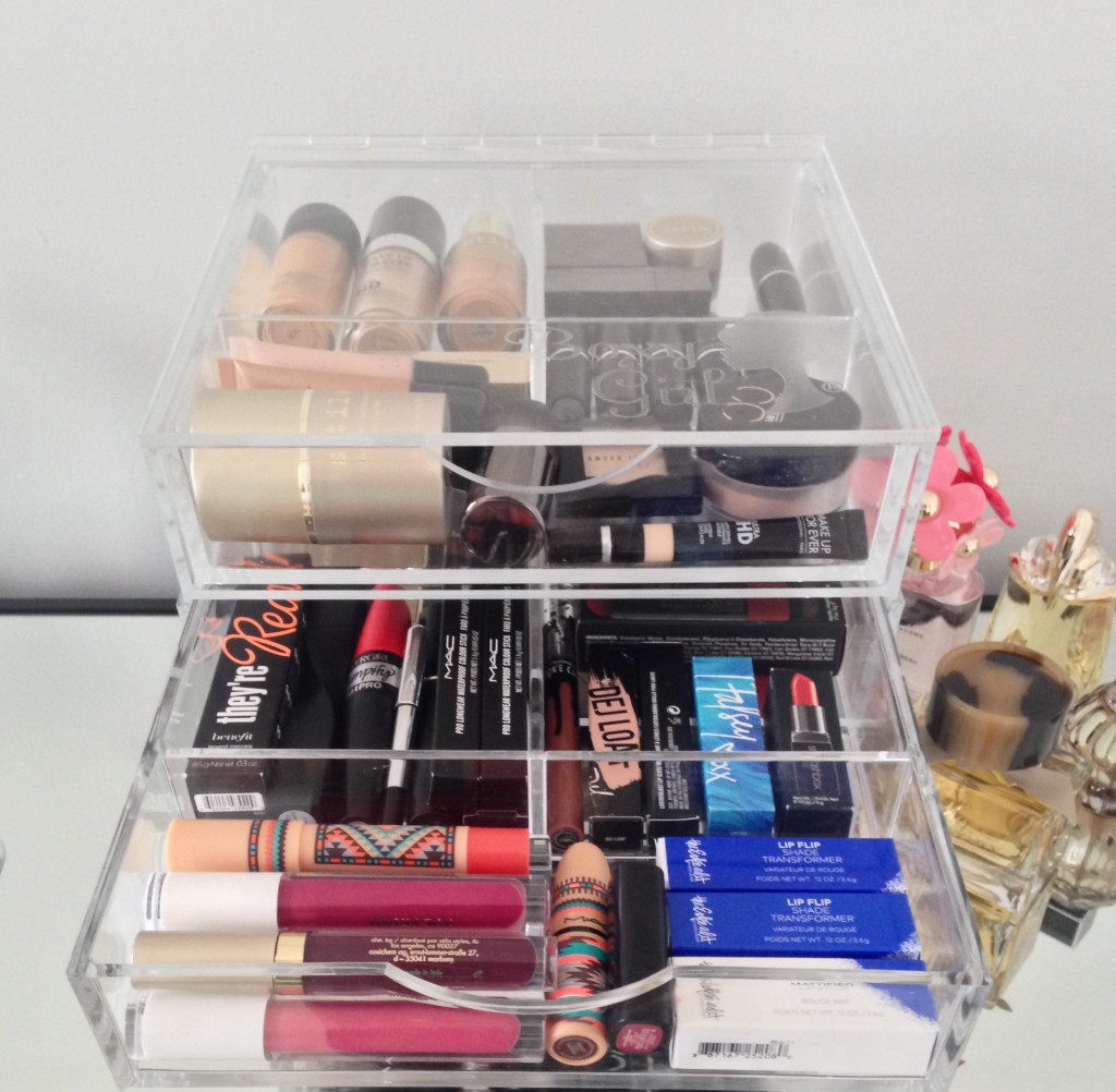 Makeup Organization with Boxy Girl
