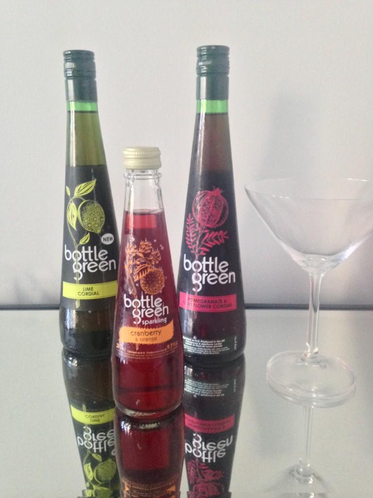 Summer Drink Ideas with bottlegreen