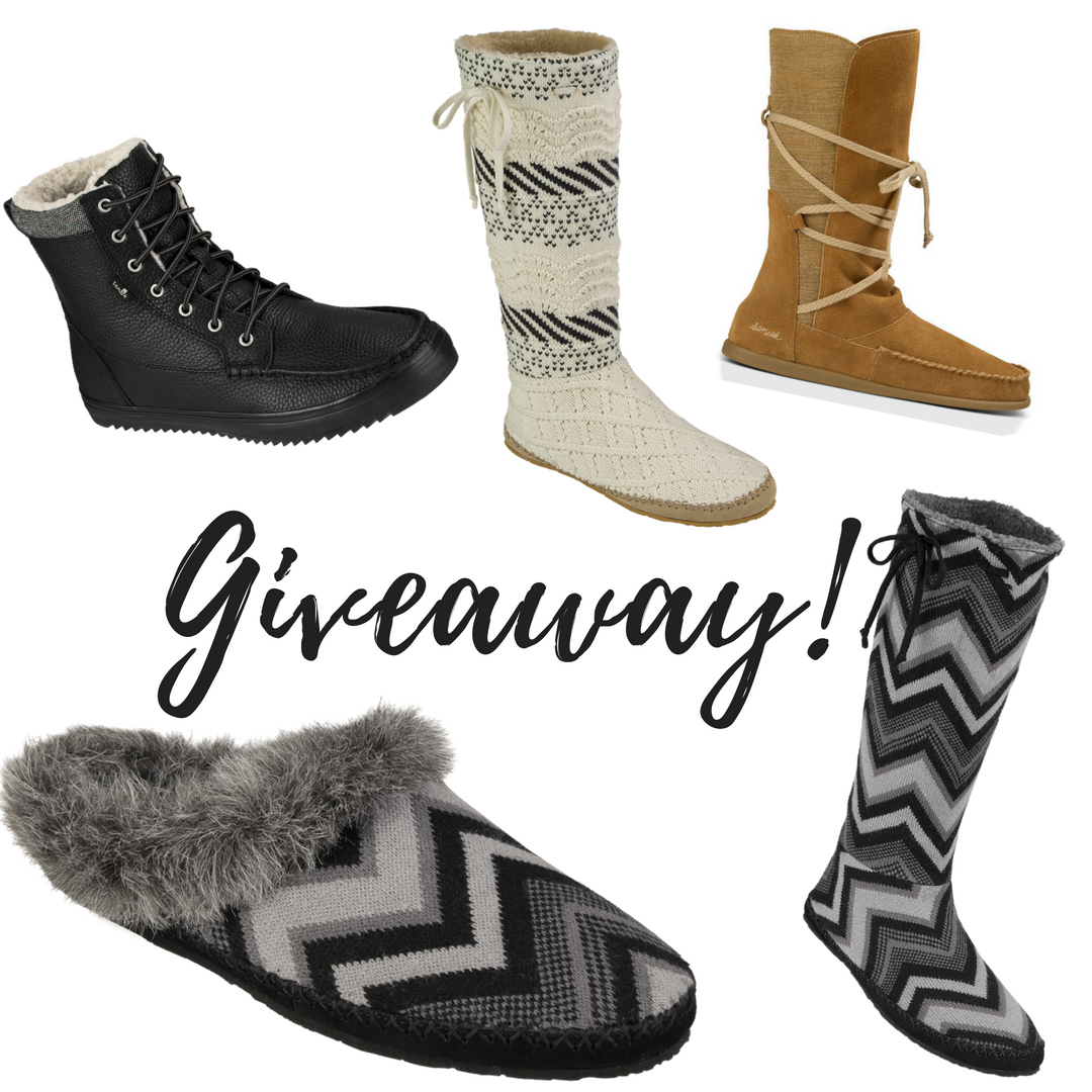 Sanuk Holiday Collection Picks + GIVEAWAY!