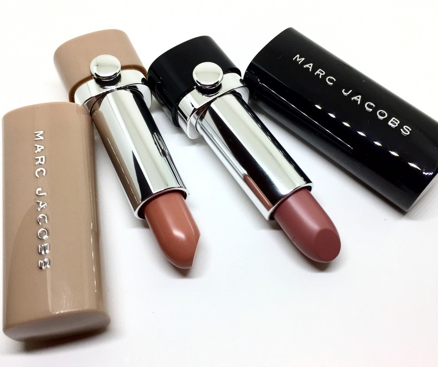 Marc Jacobs Le Marc Lip Creme & New Nudes Sheer Gel Lipstick