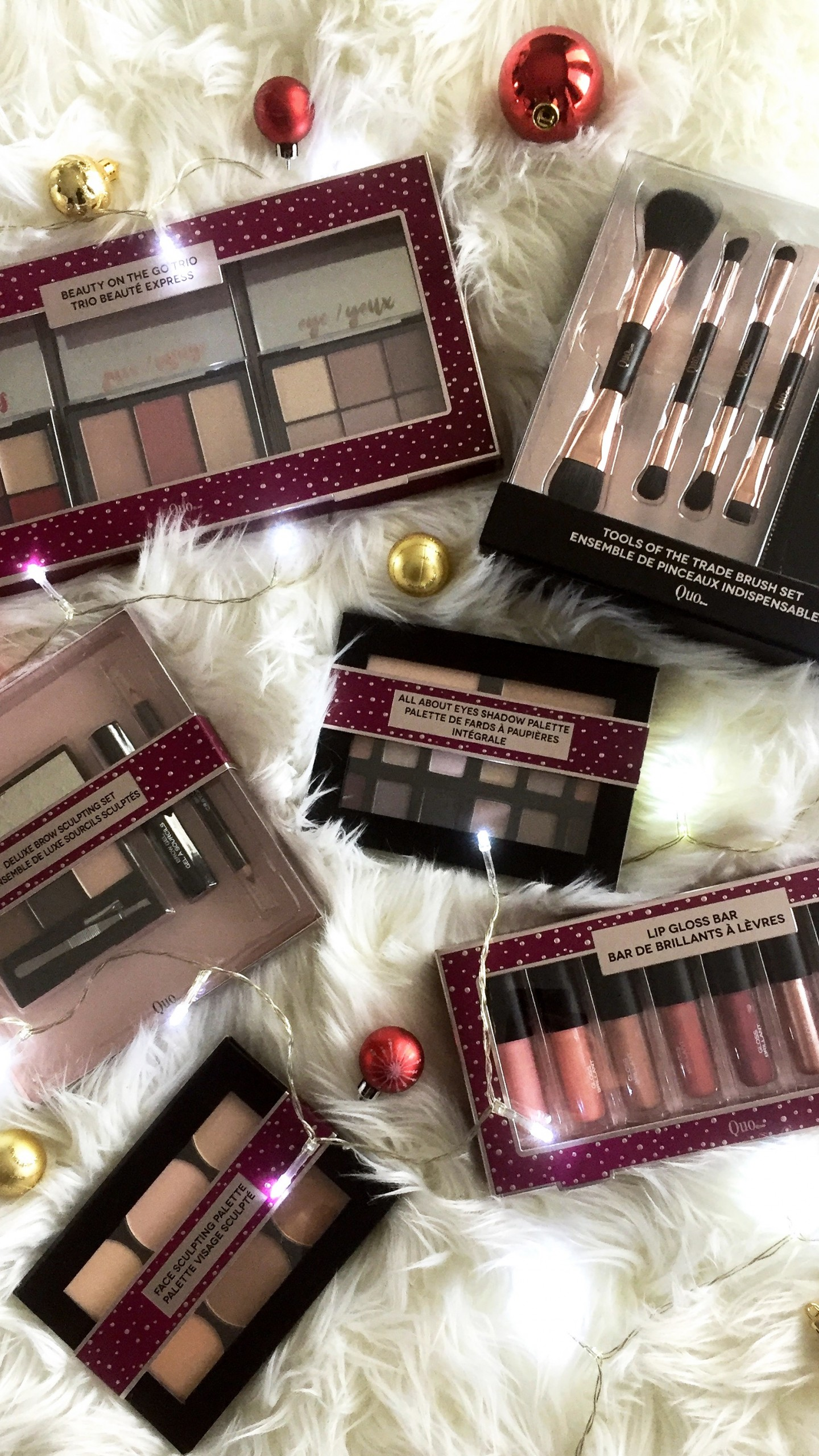 QUO Cosmetics 2017 Holiday Collection