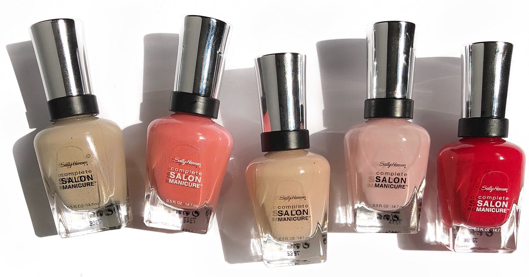 Sally Hansen Blushed Collection