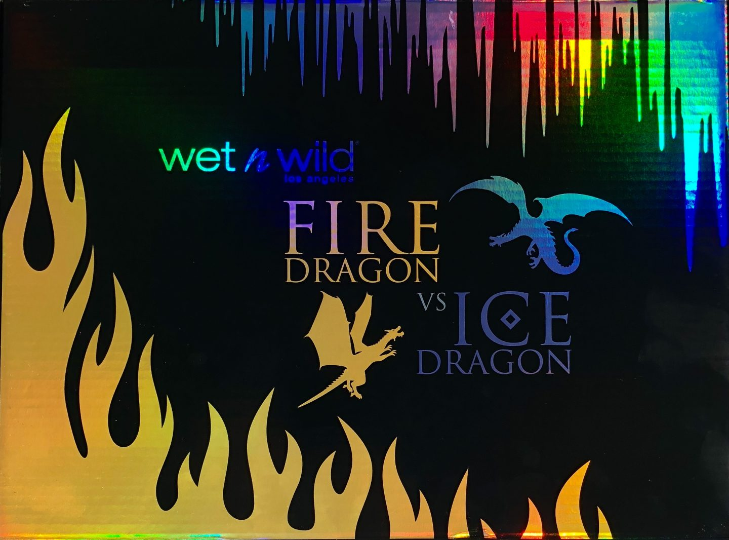 Wet N Wild Fire Dragon vs Ice Dragon
