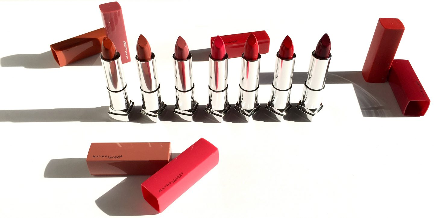 Maybelline Made For All Sensational Lipsticks