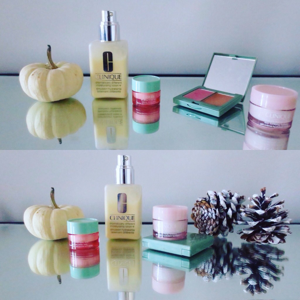 Fall into Clinique: Hydrating Products.