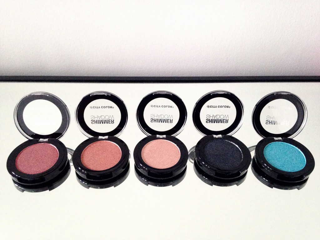 Shimmer Shadows by City Color Cosmetics