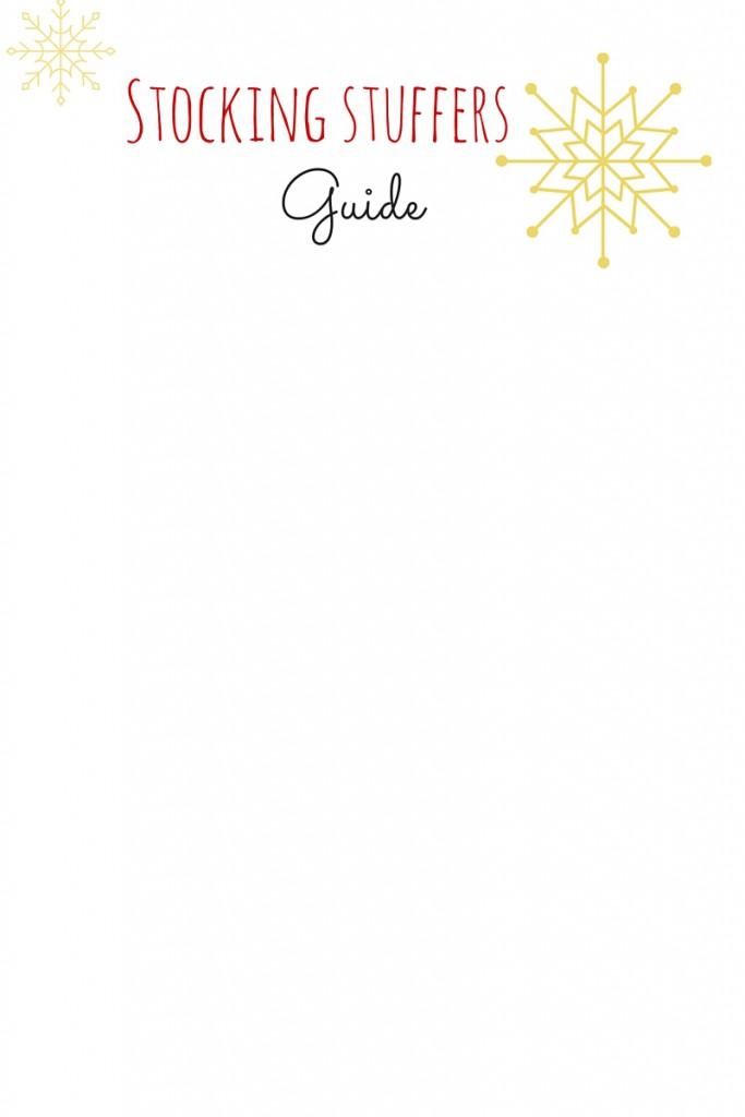 Stocking Stuffers Guide