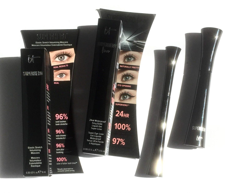 It Cosmetics Superhero Mascara & Eye Liner