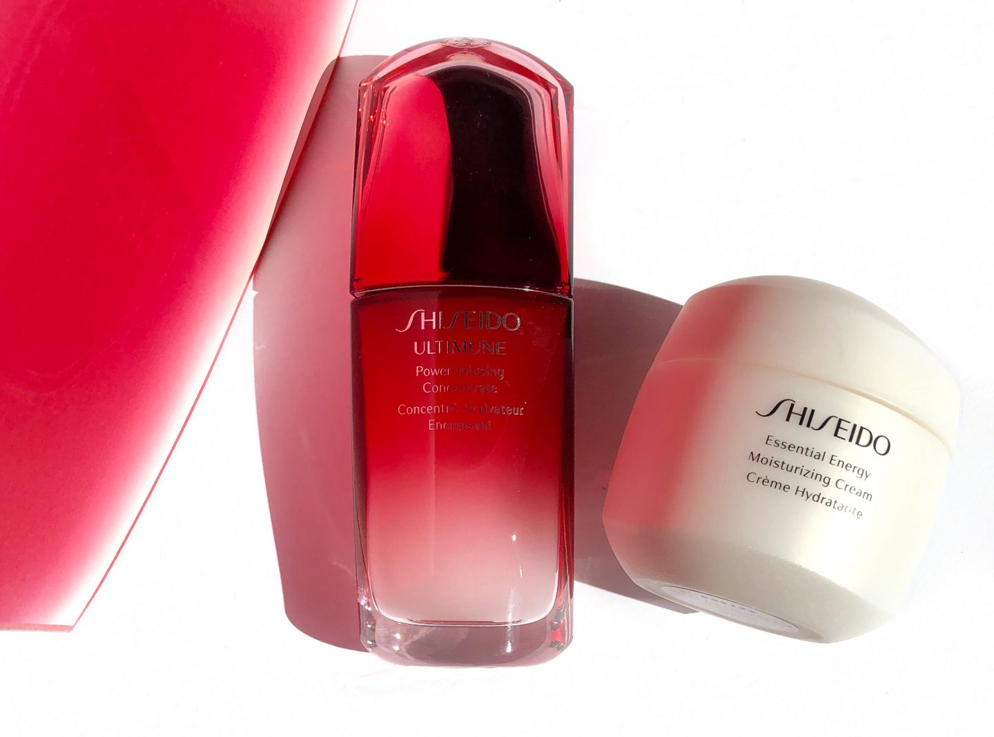 Shiseido Ultimune Power Infusing Concentrate and Day Creme