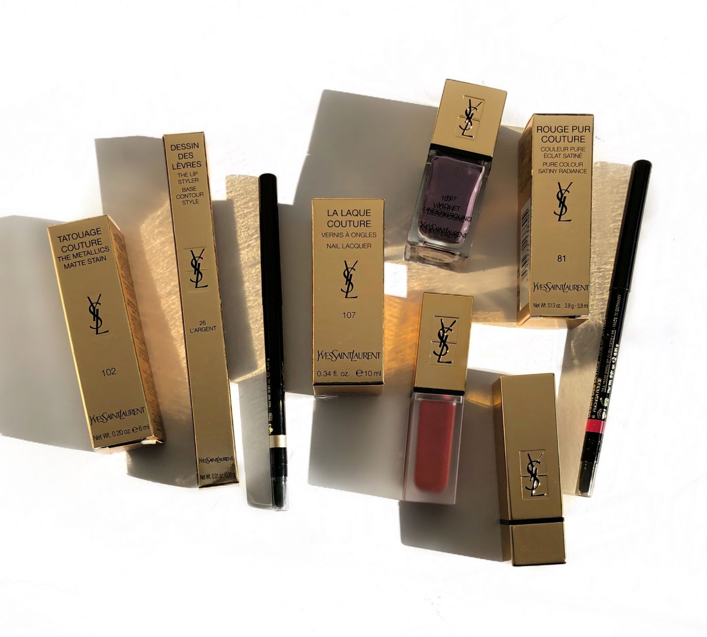 YSL Beauty Fall Look 2018 Collection
