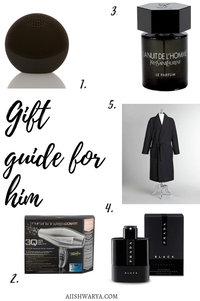 Gift Guide For Him 2018