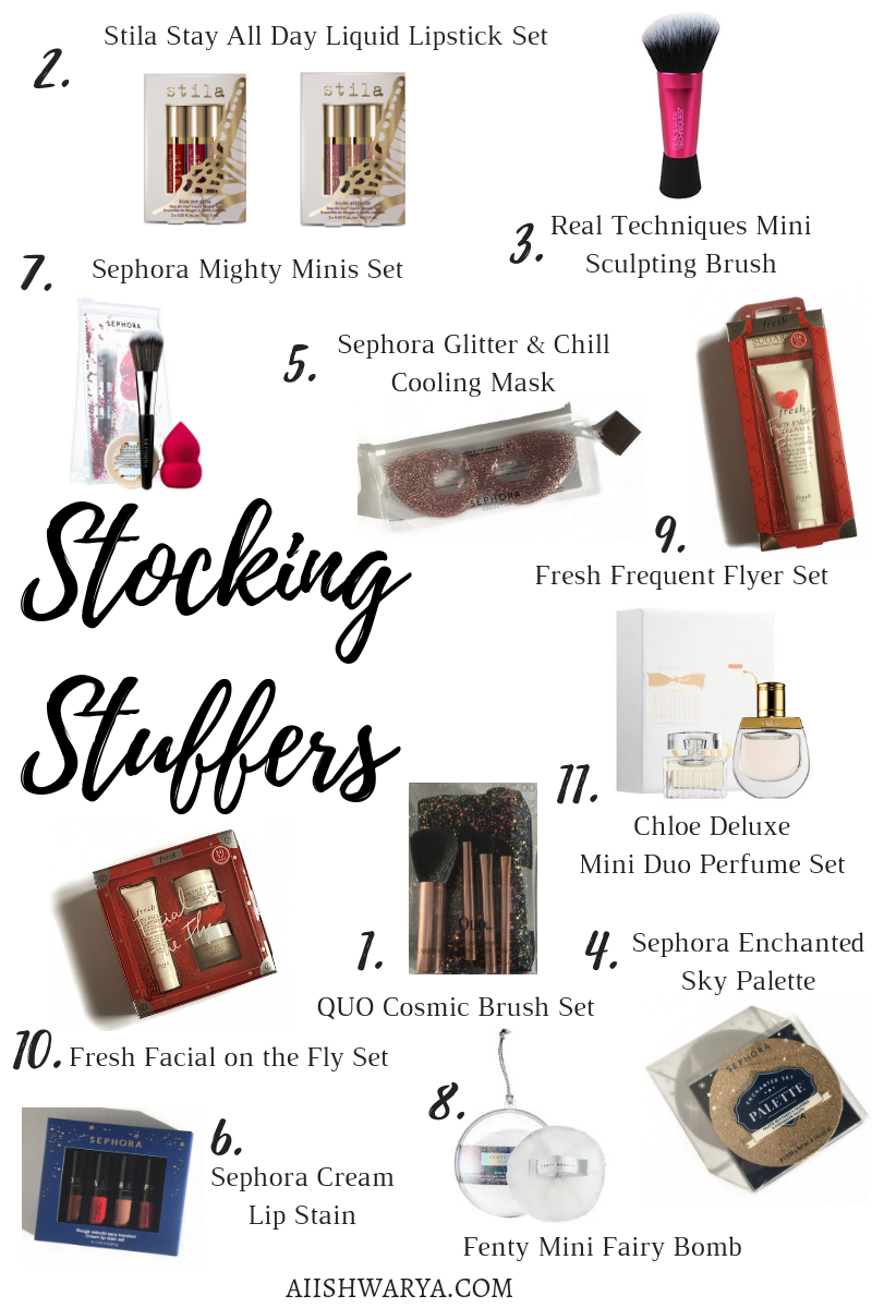 Stocking Stuffer Ideas 2018