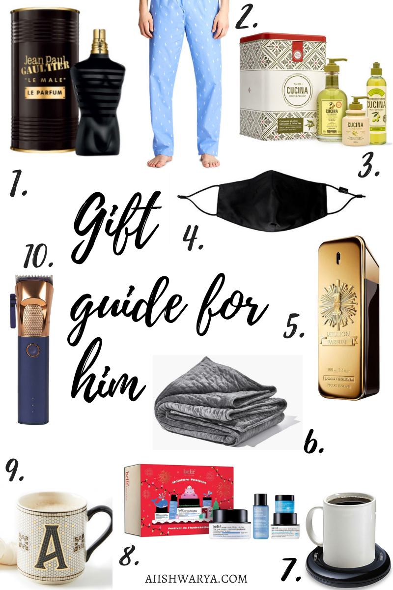 Gift Guide for Him 2020