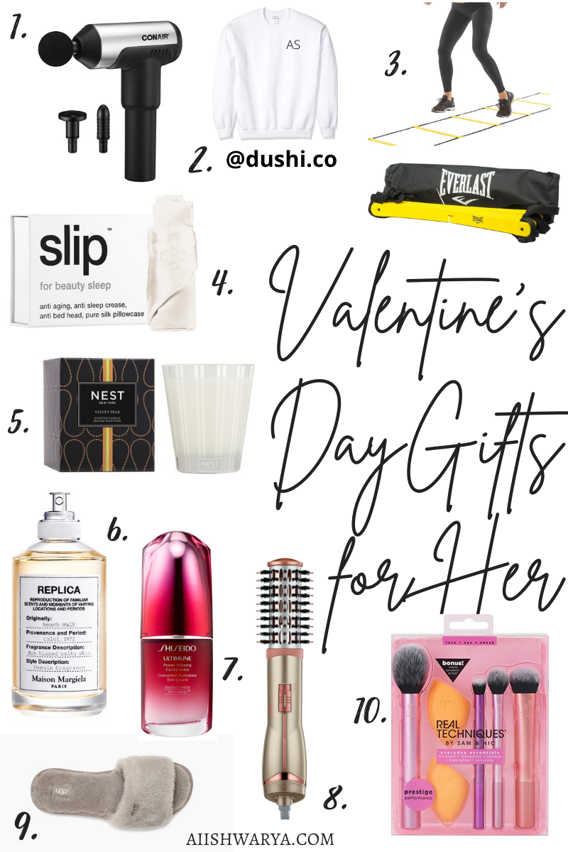 Valentine's Day Gift Guide for Her 2021