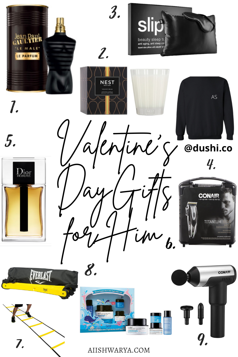Valentine's Day Gift Guide for Him 2021